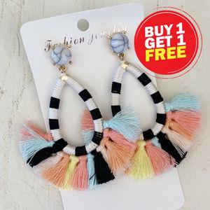 BOGO! Colorful Tassel Earrings